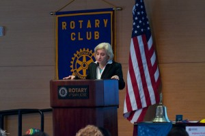 Photo of me at SJ Rotary Club